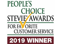 Bonfire 2019 Peoples Choice Stevie Awards Customer Service