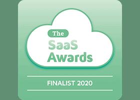 SaaS Awards Finalist 2020 logo