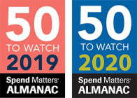 Bonfire awarded 2019 and 2020 Spend Matters Almanac 50 companies to watch