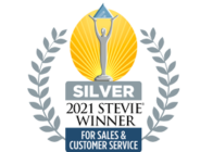 2021 Silver Stevie Winner - Sales and Customer Service