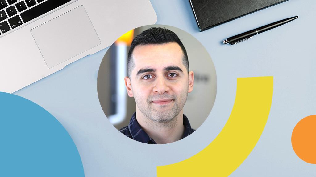 Headshot of Bonfire CEO Omar Salaymeh
