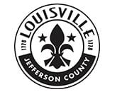 Bonfire municipal procurement client Louisville Jefferson County logo